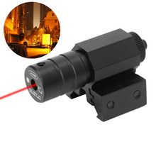 Red Dot Laser Sight Rifle Gun Hunting Laser Aiming Equipment Fast Accurate Targeting Mount Scope Rail Switch for Rifle Pistol Hu