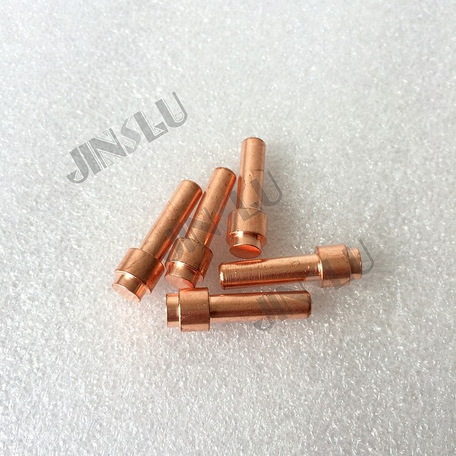 Free shipping 10PCS Plasma cutting torch A80/A81/P81 PR0108 extend electrode,cutting consumables