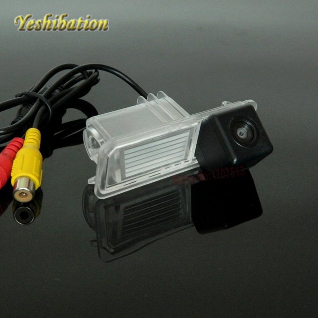 Yeshibation Back Up Camera For Volkswagen POLO 2012 2013 2014 2015 HD CCD Night Vision Reverse Camera