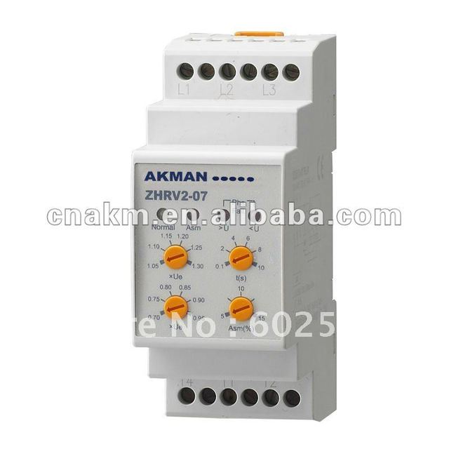 Three Phase Digital AC Voltage Monitoring Relay and Protector ZHRV2 Type