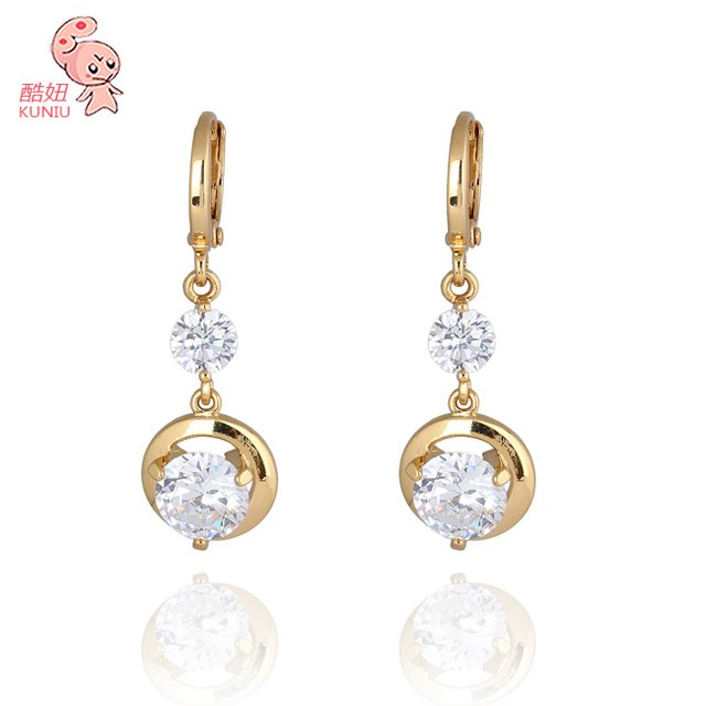 Wholesale  Austrian Crystal Water DropEarring Jewelry