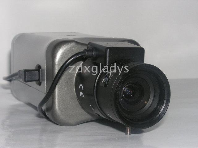 CCTV Box Camera,1/3' Sony CCD Camera,520TVL,0.5LUX,adopt NVP2020 solution with OSD menu(ZDX-C476EC)