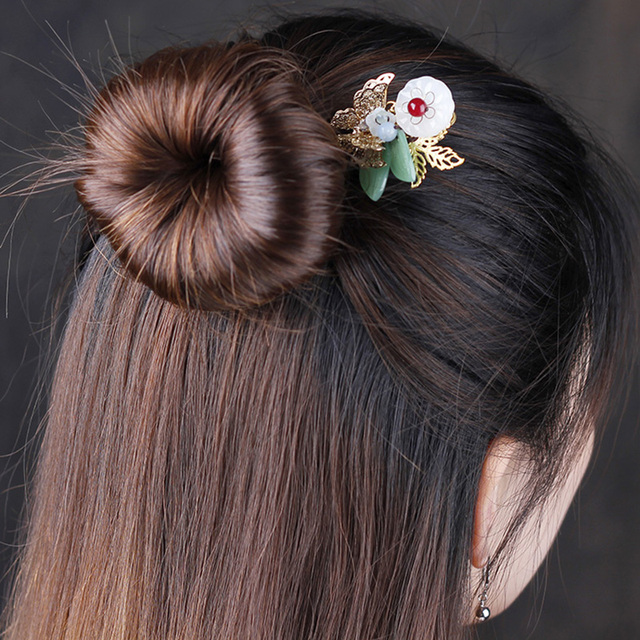 Vintage Hair Sticks Hair Comb Hairpin Women Wedding High Quality Jewelry Charm Comb Accessories