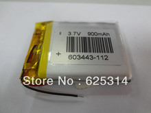 PL603443 battery for GPS wholesale,900MA Lithium Ion battery for MP3 player