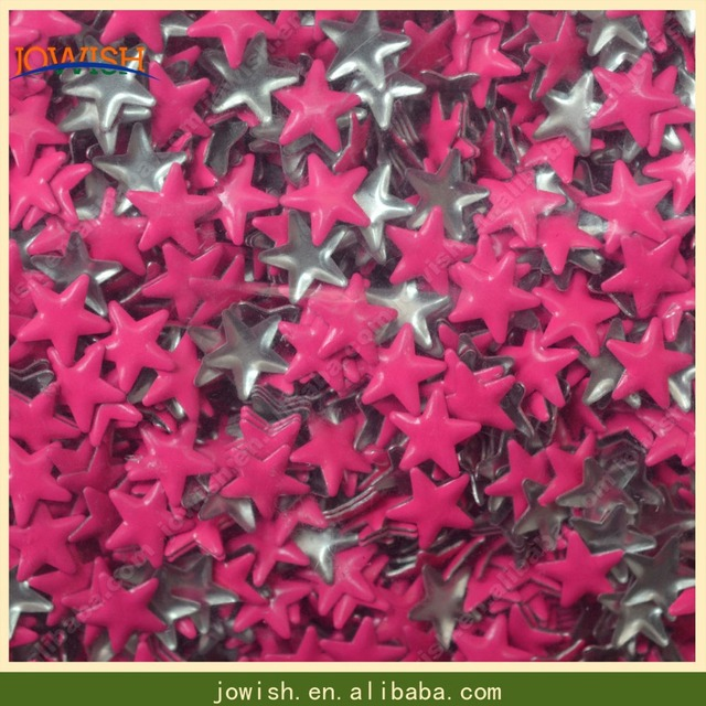 Iron on 4mm 5mm 6mm 8mm 10mm 13mm nailheads in Korean Quality , Color Neon Metal Stud Rivet Spikes Craft Case Shoes Bag