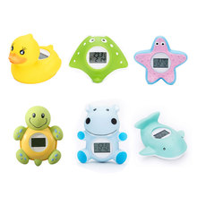 Baby Bath Thermometer Household For Children Bathtub Swimming Pool Safety Thermometer With Temperature Alarm Water Thermometers