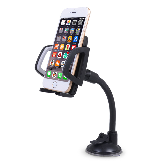 Universal Cell Phone Holder In Car Stand Long Arm Mobile Support for iphone accessories huawei samsung xiaomi Telephone Mount