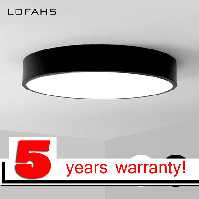 LOFAHS Modern LED ceiling light Round simple decoration fixtures study dining room balcony bedroom living room ceiling lamp