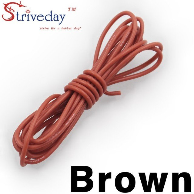 1/5/30 meters 98.4ft 14AWG Flexible Rubber Silicone Wire Tinned copper line DIY Electronic cable 9 colors to choose from