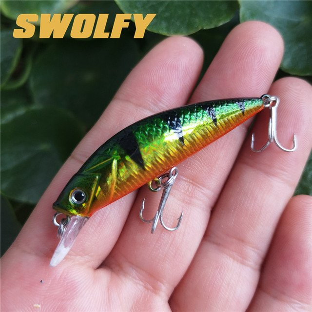 Fishing Wobblers Lures Minnow 4pcs 90mm 30g Sinking 2.5m Laser Artificial Baits
