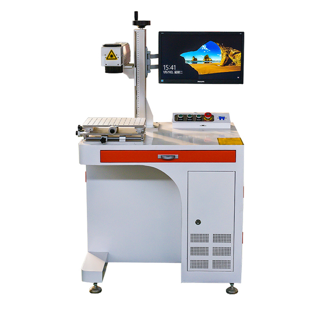 2019 new type fiber laser marking machine with cheap price for iphone watch