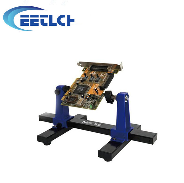 Adjustable PCB Holder Printed Circuit Board Jig Fixture Soldering Stand Clamp Repair Tool For Soldering Repair SN-390