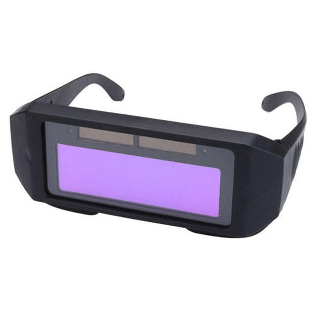 DIN4 DIN11 Solar Auto Darkening Automatic Light Change Auto Darkening Welding Helmet Welding Lens Eyes Shied Goggle Glasses
