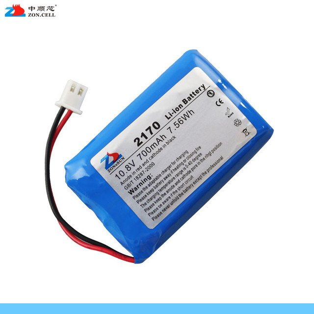In the core 700mAh 10.8V lithium polymer battery group 403450x3S 12V 700Mah lithium battery Rechargeable Li-ion Cell