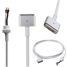 DC Cord Cable T Plug for Magsafe2 Charger Apple Macbook Pro Air 45W 60W 85W Notebook Computer Apparatus