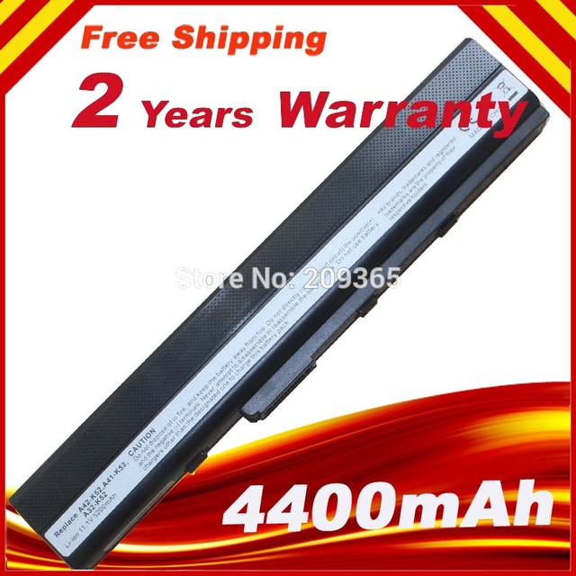[Special Price] Hot Battery for Asus A52 A52F A52J A52JB A52JK A52JR A52JR-X1 Laptop A32-K52 70-NXM1B2200Z  6Cell Li-ion