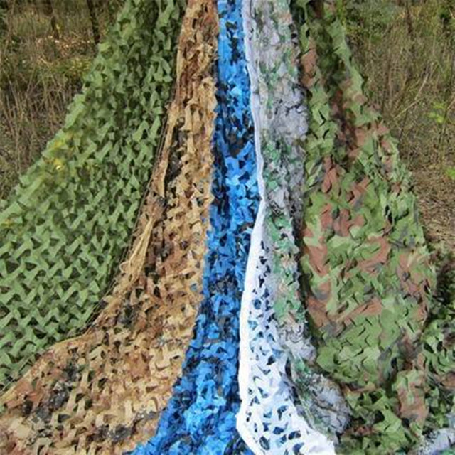 2x3M Oxford Cloth Camouflage Shade Net Mesh Sun Shelter Army Hide Cover Net Camping Military Hunting Shade Sails Beach Sheet