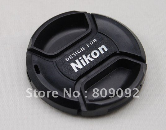 58mm Universal Snap-on Lens Cap Cover for Nikon