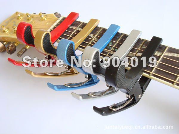 Lots of 5 Pieces Quick Change Clamp Key Capo For Acoustic Electric Guitar