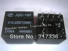 Automotive Relay  HONGFA Relay JQC-16F-012-2ZST JQC-16F 012-2ZST  40VDC 25A 10 pins can replace V23084-C2001-A303 free shipping