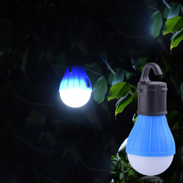 Tent Lamp Fishing Emergency Light Travel 3LED 60LM Camping Lights Flashlight Hiking Multicolor Outdoor Portable