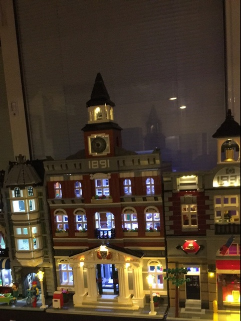 LED light up kit   (only light included)  for 10224  Compatible with  15003 Creators The town hall Model Building Kits