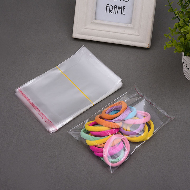 7x10cm 2.8x4inches Small Clear Self Adhesive Seal Plastic Bag OPP Poly Bag Retail Packaging Bag Wholesale 1000/PCS