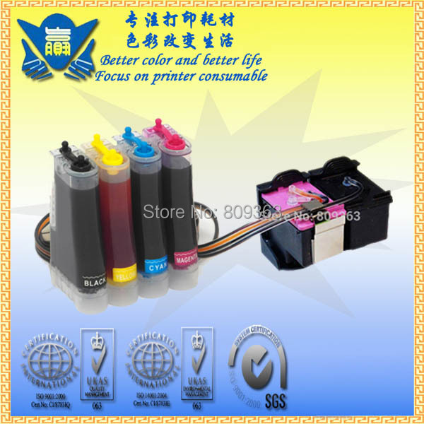 CISS for hp21 22 ,Continuous Ink System used for Deskjet 3910 3920 3930 3940 D1311 D1320,PSC 1401 ect. Free Shipping