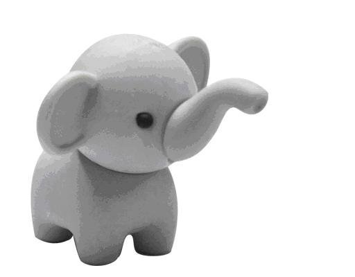 Cute Elephant  Eraser Promotion Kids Eraser fantastic Eraser for boys Birthday Party and Classes Activities Gift