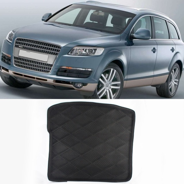 Free Shipping!! Waterproof All Weather Design Cargo Truck Mat Carpet Rear Tray Liner For Audi Q7 Before 2015
