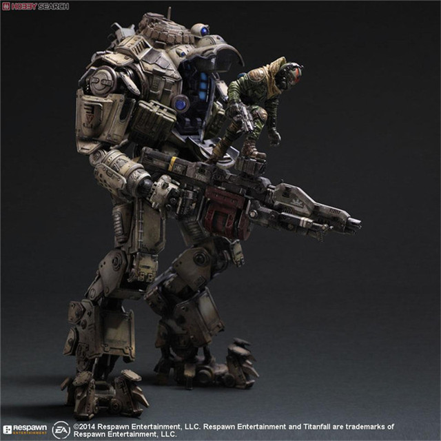 """The hot sale Titanfall Play Arts Kai Atlas Action Figure PVC 27CM Anime game TOY 10.63"""" GIFT for friends Doll Model Collection"""
