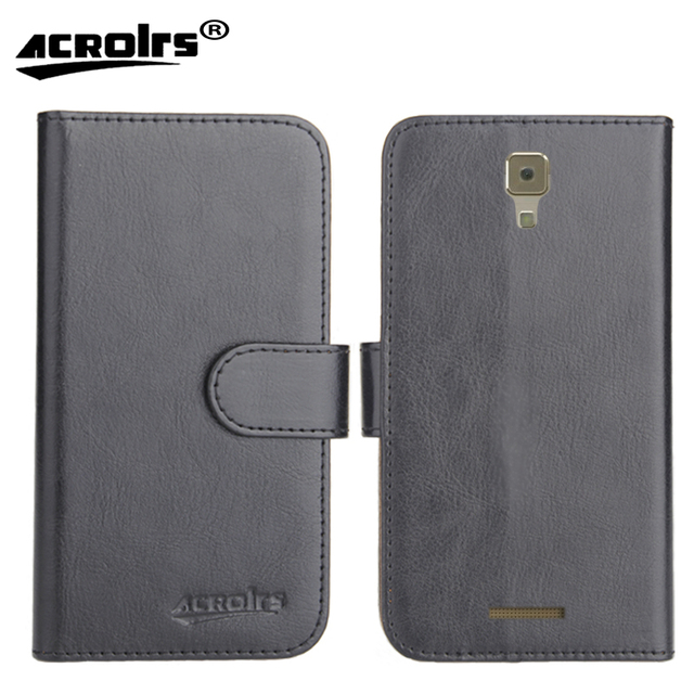 """Nous NS 5006 Case 5"""" Factory Direct! 6 Colors Dedicated Leather Exclusive Special Phone Cover Crazy Horse Cases+Tracking"""