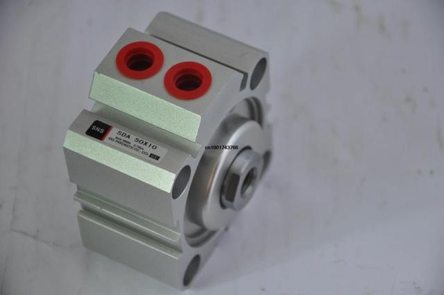 SDA50*10 Rc1/4' compact cylinder SNS pnematic parts Airtac type actuator air cylinder Hydraulic cylinder SDA Series M18*1.5