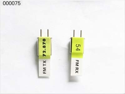 ESKY E-sky 000075 72MHz 72.870mhz Crystal Frequency Rc Spare Parts Part Accessories for Rc Helicopter