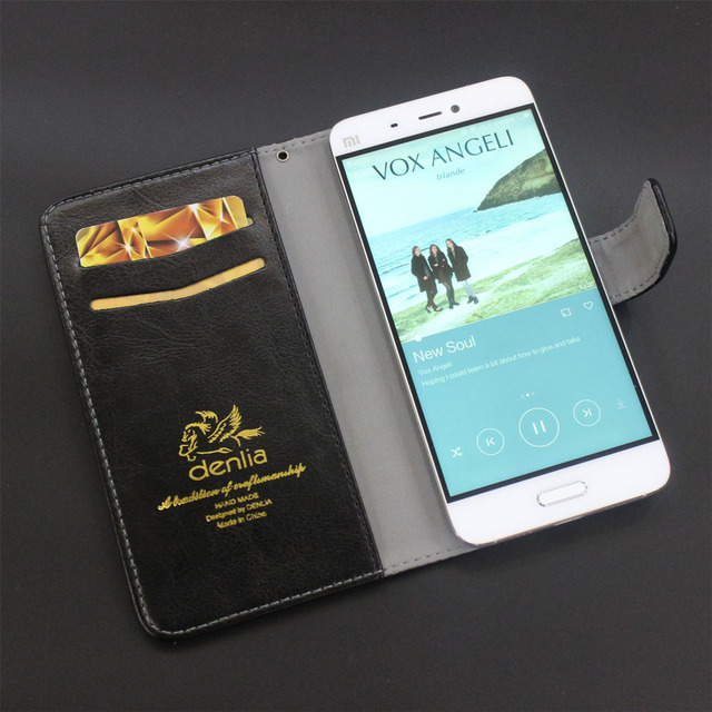 "TOP New! ECOO E04 Aurora Case 5.5"" 5 Colors Ultra-thin Leather Case Exclusive Phone Cover Credit Card Holder Wallet+Tracking"