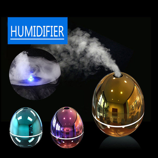 2019 Drop Shpping Egg Shape Ultrasonic Humidifier Mist Maker Exquisite Mini Gifts Aromatherapy Humidifier for Fatigue Relieving