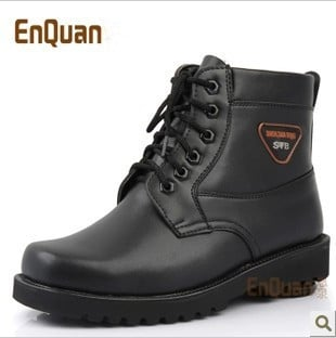Free shipping 2015 New arrivals winter men's boots genuine leather wool snow boots thermal boots  hot-selling boots  outdoor