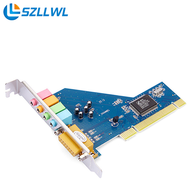 CMI8738 PCI 4.1 channel audio computer independent sound card support WIN7 32/64 bit