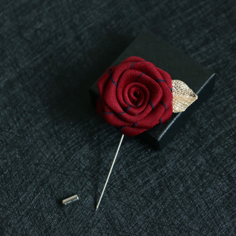 Men/'s Boutonniere Hat Lapel Purse Corsage Flower Brooch Pin Valentine Gift Mother/'s Day Women/'s Clothing Felt Floral