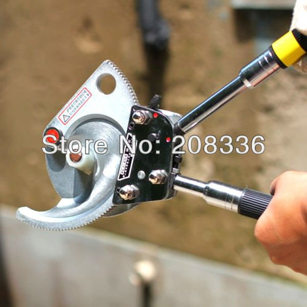 High Quality Durable Ratchet Cable Cutter Ratchet Wire Cutter XLJ-65A for cutting copper& aluminum armoured cable below 65mm
