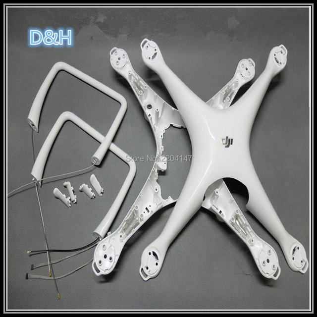 100% Genuine Replacement Accessories for Dji Phantom 4 Body Shell/Landing Gear Legs for Phantom 4 Repair Parts