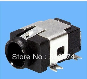 high quality 100pcs Free shipping DC JACK SMT DC-031A Power socket  connector (female)  for tablet pc ,Adaptor,laptop and so on