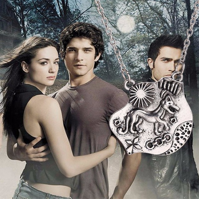 Fashion high quality Teen Wolf Necklace Allison Argent pendant necklace