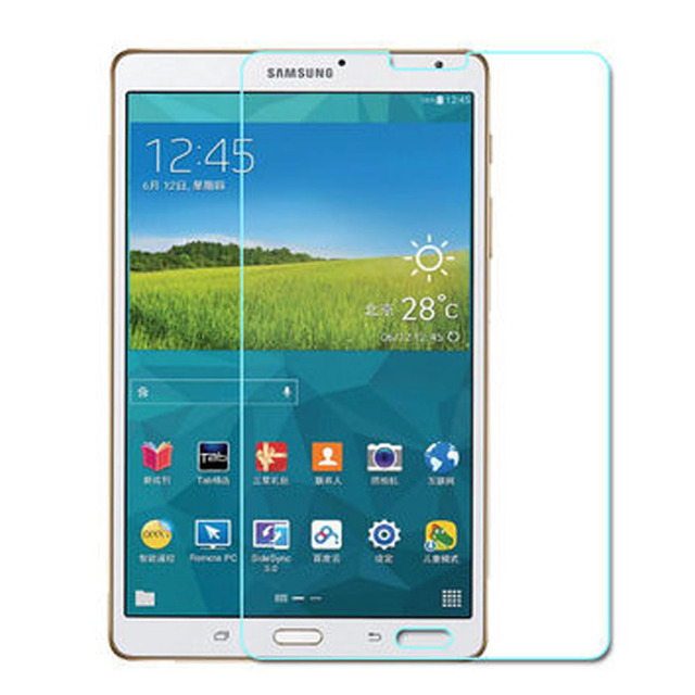 Tempered Glass For Samsung Galaxy Tab S 8.4 T700 T705 Tablet Screen Protector Film for Galaxy Tab S 10.5 T800 T805 9H Protector
