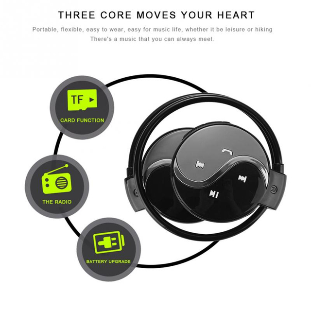 Portable Bluetooth Earbuds Phonecall Stereo Bluetooth Earphone Outdoor Mini Wireless Bluetooth Headset Microphone