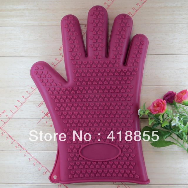 Silica gel cake tools Quality assurance of FDA silicone gloves High temperature resistant +230c