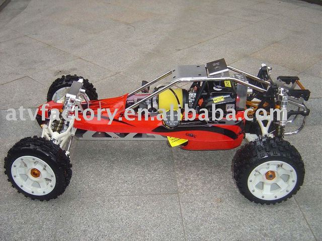Free shipping Gas Powered rc remoted car,30.5cc engine baja ss