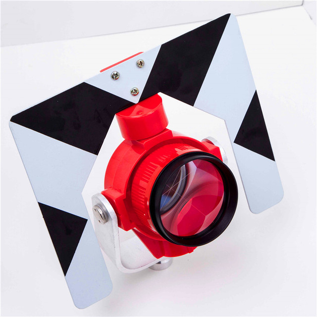 AK28T, prism,For the total station,Prism constant:-30mm,Red frame