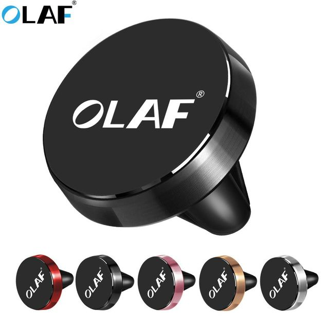 OLAF Magnetic Car Phone Holder Air Vent Mount Mobile Phone Stand Magnet Cell in Car GPS For iPhone XS Max Samsung Xiaomi Holder