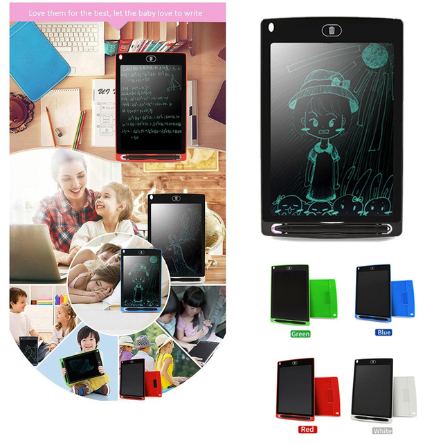 8.5'' LCD Drawing Pad Writing Tablet Highlight Writing Board Electronic Tablet Painting Board Graffiti Tablet Premium Quality